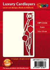 BPC5556 Luxe oplegkaart A6 darten