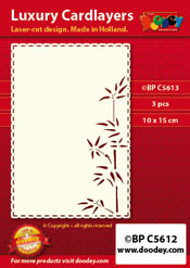 BPC5613 Luxury card layer A6 bamboo