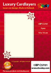 BPC5701 Luxury card layer A6 stars