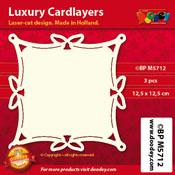BPM5712 Luxe oplegkaart 12,5 x 12,5 cm
