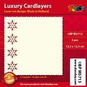BPM5713 Luxe oplegkaart 12,5 x 12,5 cm