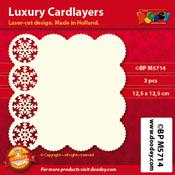 BPM5714 Luxe oplegkaart 12,5 x 12,5 cm
