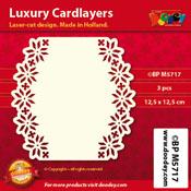 BPM5717 Luxe oplegkaart 12,5 x 12,5 cm