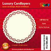 BPM5718 Luxe oplegkaart 12,5 x 12,5 cm