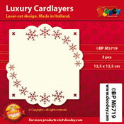 BPM5719 Luxe oplegkaart 12,5 x 12,5 cm