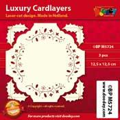BPM5724 Luxe oplegkaart 12,5 x 12,5 cm