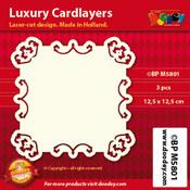BPM5801 Luxe oplegkaart 12,5 x 12,5 cm