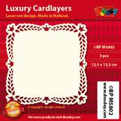 BPM5802 Luxe oplegkaart 12,5 x 12,5 cm