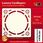 BPM5804 Luxe oplegkaart 12,5 x 12,5 cm
