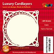BPM5805 Luxe oplegkaart 12,5 x 12,5 cm