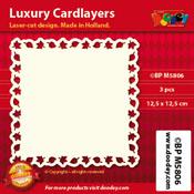 BPM5806 Luxe oplegkaart 12,5 x 12,5 cm