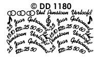 DD1180 Combi Huwelijk & Jubileum (XS)