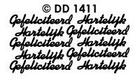 DD1411 Hartel.Gefeliciteerd (Los)