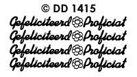 DD1415 Gefeliciteerd & Proficiat (Klein)