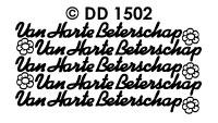 DD1502 Van Harte Beterschap (Klein)