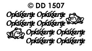 DD1507 Opkikkertje