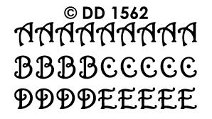DD1562 Alfabet ABC krul