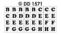 DD1571 ABC & 123 in Squares