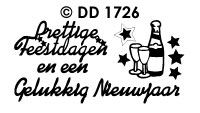 DD1726 Combi Prettig/ Nieuwjaar/ e.d. (Klein)