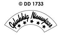 DD1733 Gelukkig Nieuwjaar (Draaikaart)