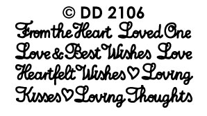 DD2106 Mixed Romance Greetings