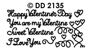 DD2135 Mixed Valentine`s Text