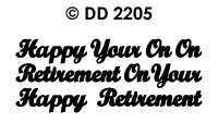 DD2205 On Your/ Happy Retirement