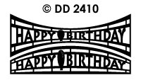DD2410 Happy Birthday (Bol/ Hol)