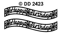 DD2423 Happy Birthday (Golf)