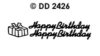 DD2426 Happy Birthday