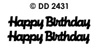 DD2431 Happy Birthday (L)