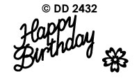 DD2432 Happy Birthday