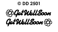 DD2501 Get Well Soon