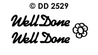 DD2529 Well Done