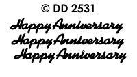 DD2531 Happy Anniversary