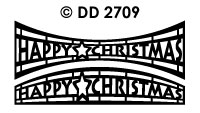 DD2709 Merry Christmas (Round/ Shape)
