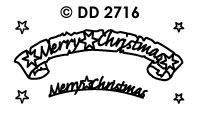 DD2716 Merry Christmas (Banner)