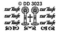 DD3023 zur Taufe