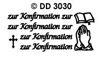DD3030 zur Konfirmation