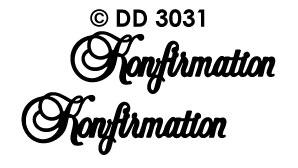 DD3031 Konfirmation