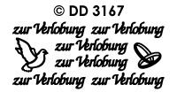 DD3167 zur Verlobung