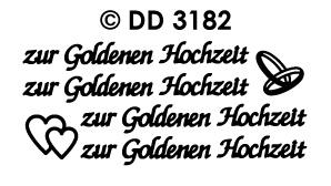 DD3182 zur Goldenen Hochzeit