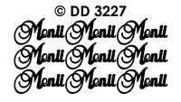 DD3227 Menu(Sierlijk)