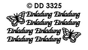 DD3325 Einladung