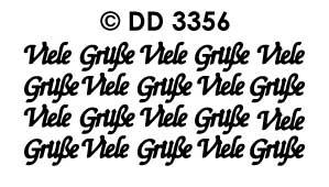 DD3356 Viele Grusse