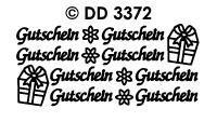 DD3372 Gutschein