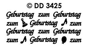 DD3425 zum Geburtstag