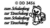 DD3456 zum Schulanfang zur Einschulung