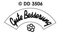 DD3506 Gute Besserung (Draaikaart)