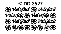 DD3527 Viel Gluck Viel Erfolg